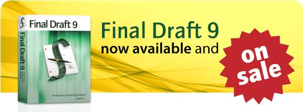 Visit us online @ www.finaldraft.com